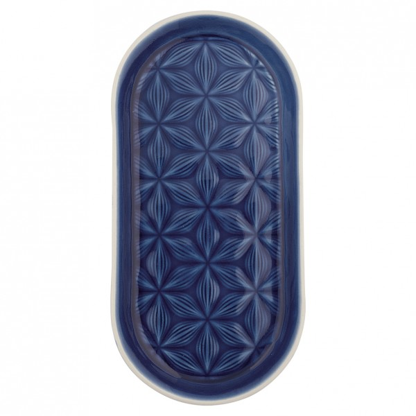 Tablett Kallia dark blue