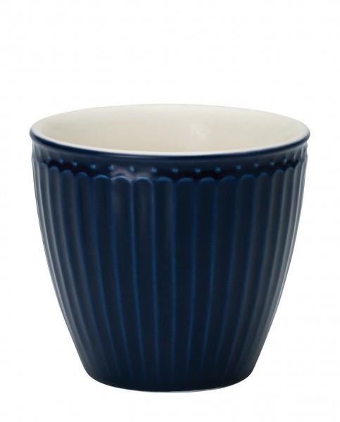 Latte Cup Alice Dark Blue von Greengate