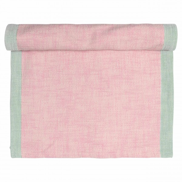 Table runner Minna pale pink Greengate