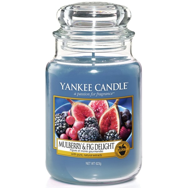 Mulberry & Fig Delight 623g von Yankee Candle