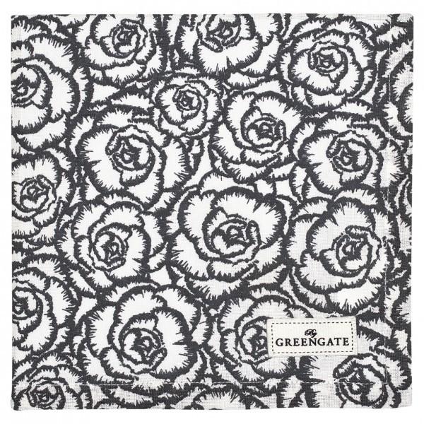 Serviette/Deckchen Blossom grey von Greengate
