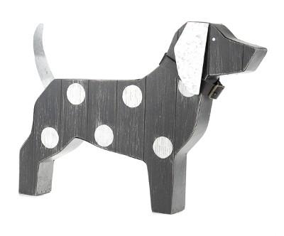 Baden Hund mit Halsband