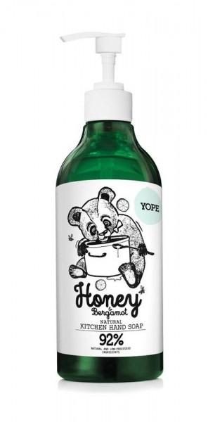 Küchen Handseife Honig und Bergamotte von Yope