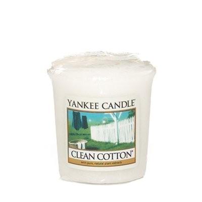 Clean Cotton Votive Kerze Yankee Candle