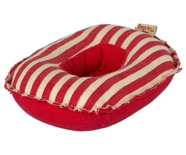 Schlauchboot rot für Maileg Mäuse