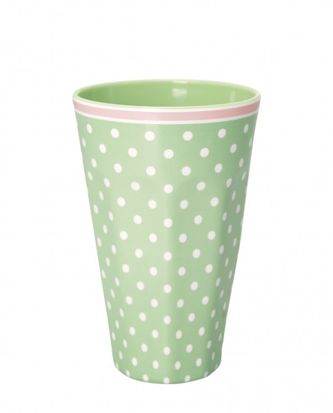 Greengate Melamin Tall Cup pale green