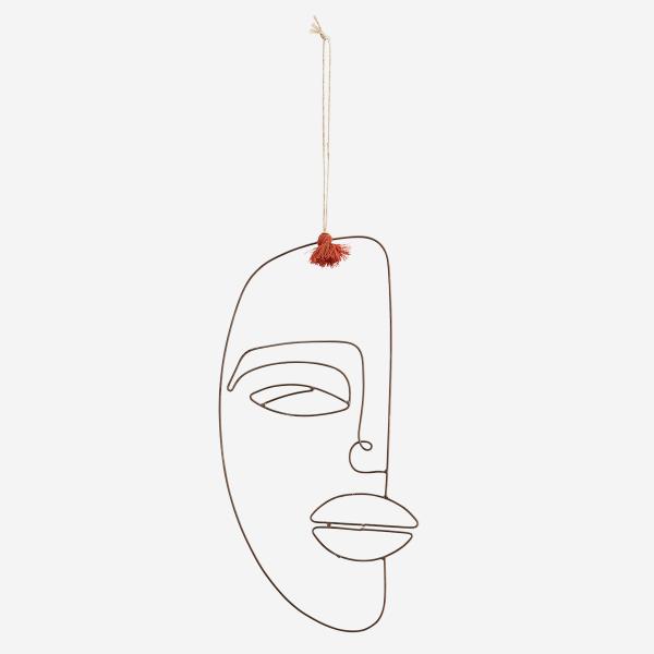 Gesicht zum hängen