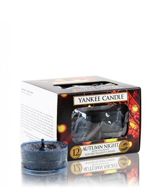 Autumn Night Yankee Candle Teelichter