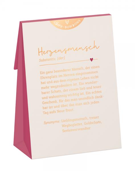 """Herz-Bonbons, """"Herzensmensch"""""""
