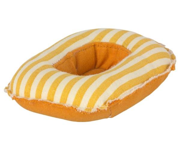 Schlauchboot gelb für Maileg Mäuse