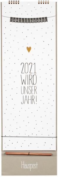 Familienkalender 2021 von Räder