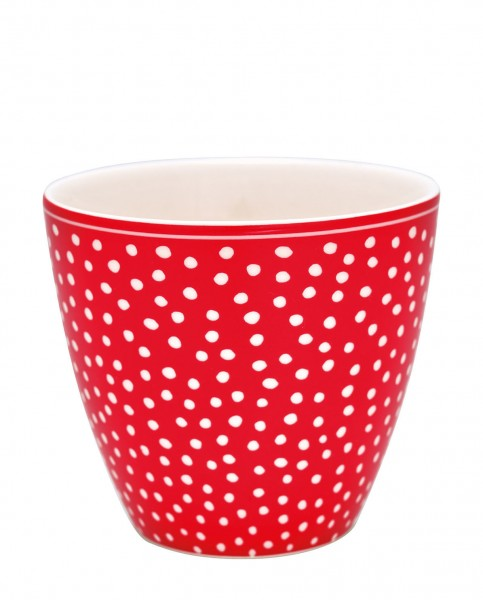 Latte Cup Dot red von Greengate
