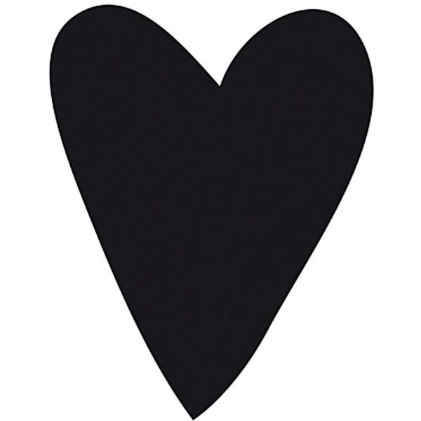 Stempel längliches Herz