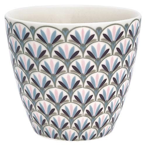 Latte Cup Victoria white von Greengate