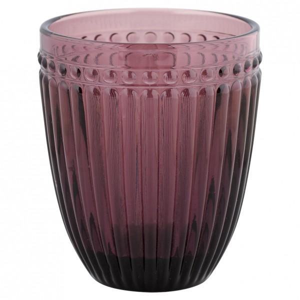 Wasserglas Alexa plum