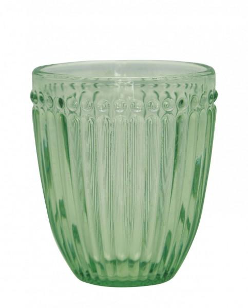 Wasserglas Alice pale green
