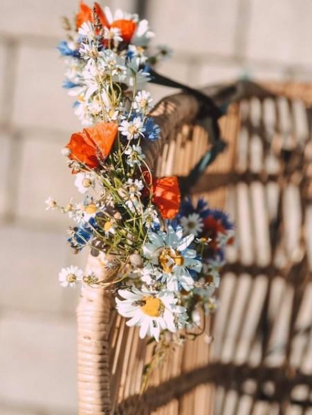 Blumenkranz binden mit Chrissi von @tantefrida