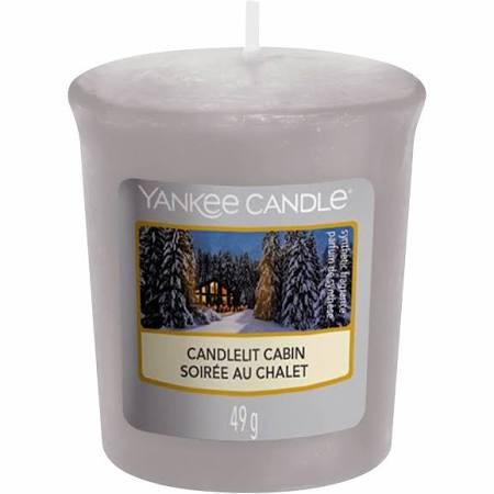 Candlelit Cabin Votiv Kerze