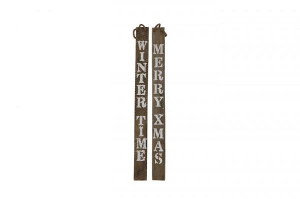 Historic wood sign