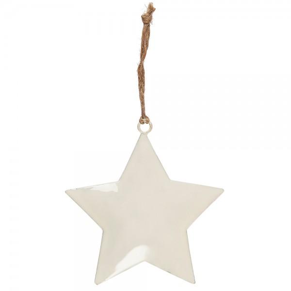 Stern Weiß zum aufhängen Small von Ib Laursen