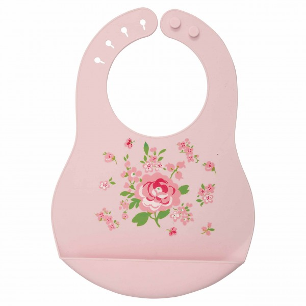 Baby Silikon Lätzchen Meryl pale Pink von Greengate