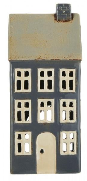 Teelichthalter Nyhavn beiges Dach 1 Schornstein von Ib Laursen