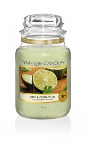 Yankee Candle Lime & Coriander Small Jar 104g