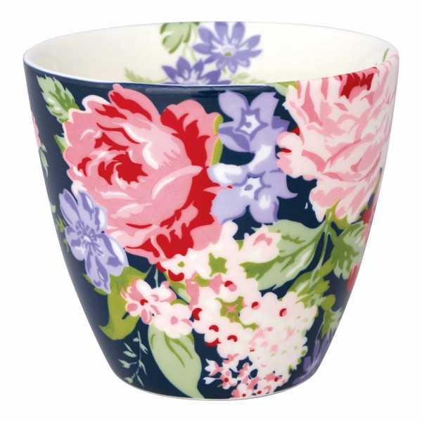 Latte Cup Rose dark blue von Greengate
