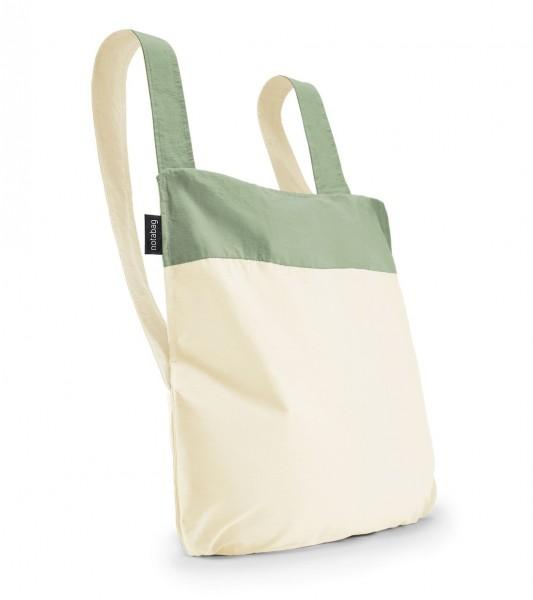 Tasche Bag&Backpack Olive/ Raw von Notabag