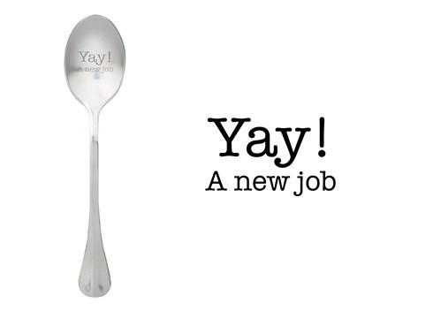 Löffel Yay a new job