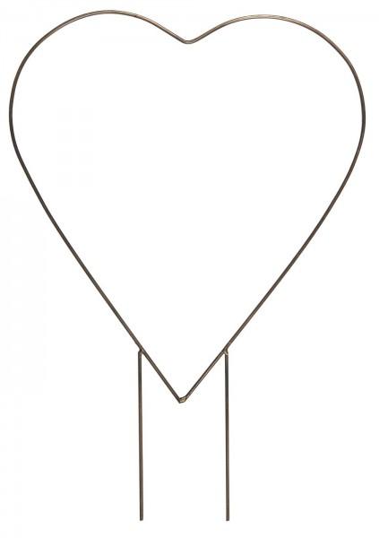 Herz m/ Doppelspieß von Ib Laursen