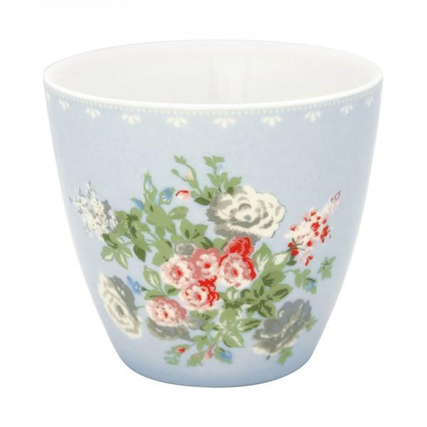 Latte cup Petricia pale blue