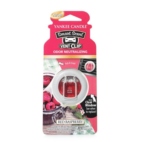Yankee Candle, vent clip, Red Raspberry