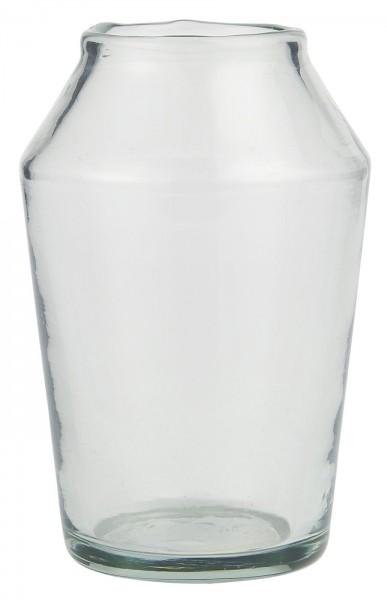 Vase konisch mundgeblasen