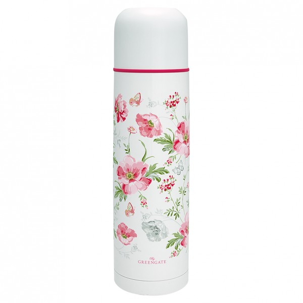 Thermokanne Meadow white 800 ml von Greengate