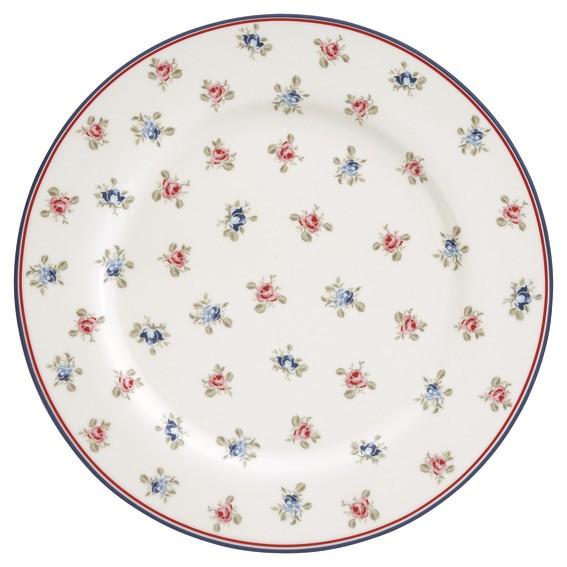Dinner plate Hailey white von Greengate