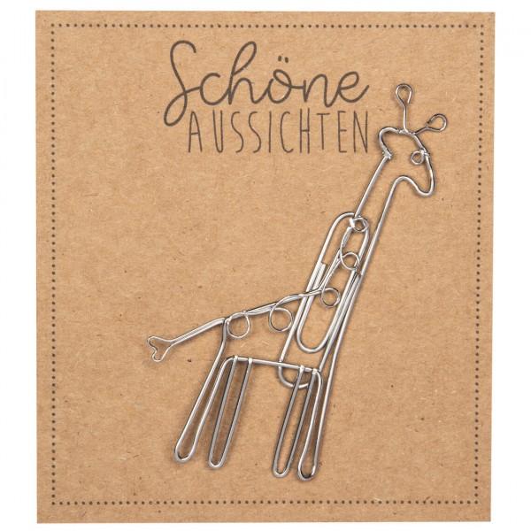 Tierfreunde Giraffe