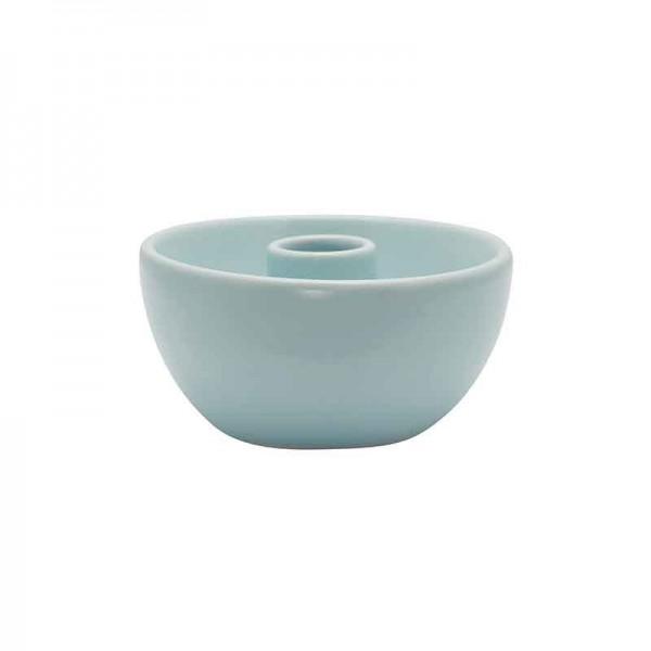 Kerzenhalter pale blue small round von Greengate