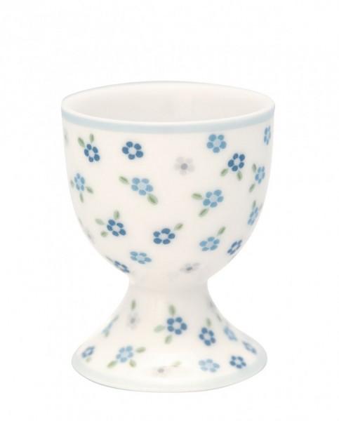 Egg cup Ellise white