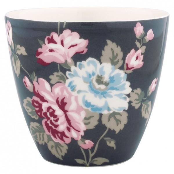 Latte Cup Maude dark grey von Greengate
