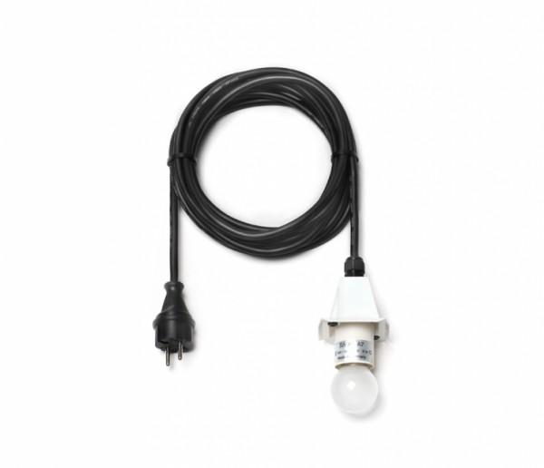 Kabel für A4/A7 - 5 m, Deckel weiß