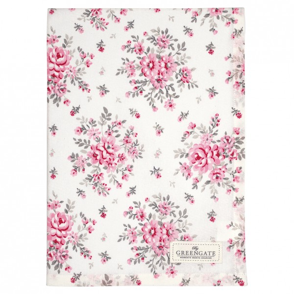 Tea Towel Flora white von Greengate
