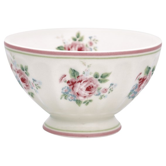 French bowl medium Marley white von Greengate