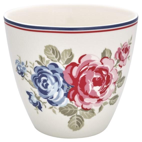 Latte cup Hailey white von Greengate