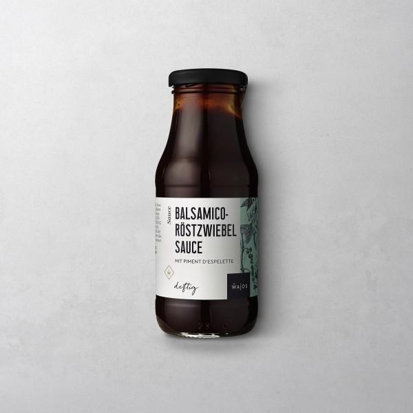 Balsamico Röstzwiebel Sauce m.Piment d'Espelette