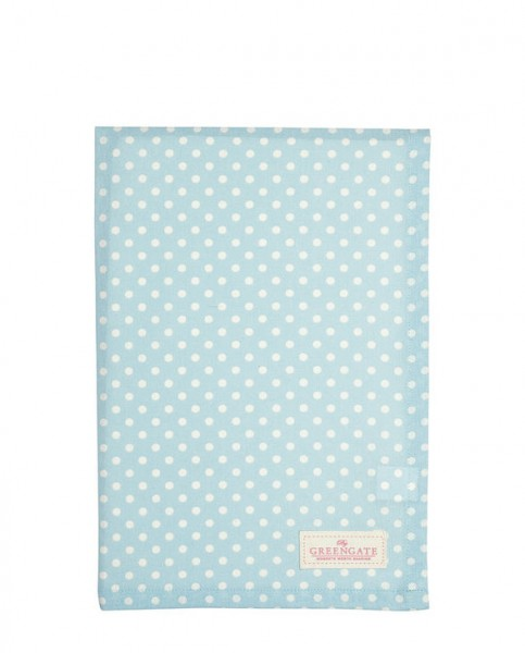 Tea Towel Spot pale blue von Greengate