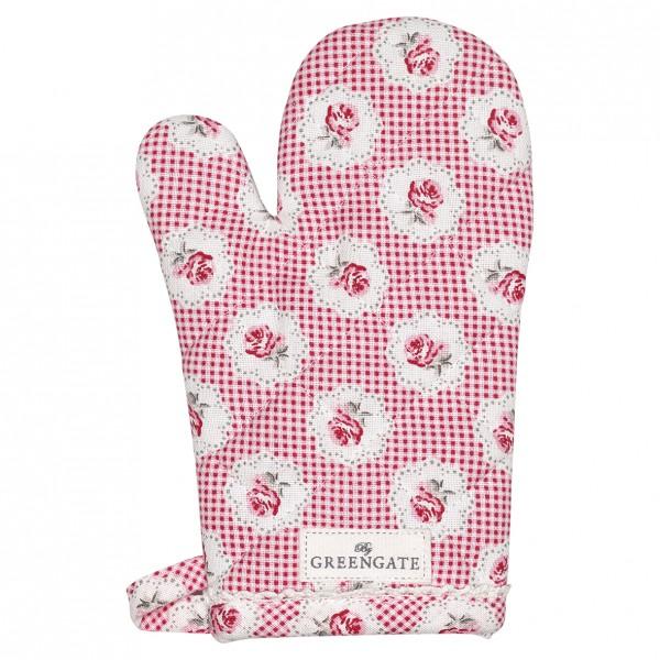 Kinderofenhandschuh Tammie red