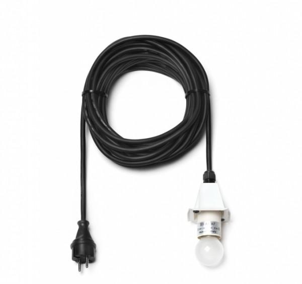 Kabel für A4/A7 - 10 m, Deckel weiß