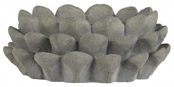 Kerzenhalter f/ Teelicht Zapfenmuster von Ib Laursen