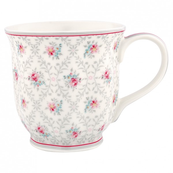 Teetasse Daisy pale grey